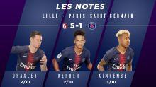 Lille-PSG (5-1) : Les notes des Parisiens