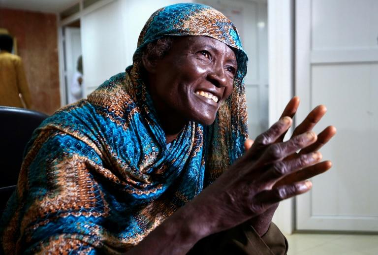 Sudanese farmer Khadija Ahmadmad stood on a thorn that went through her sandal -- but it brought with it a flesh-eating infection called mycetoma
