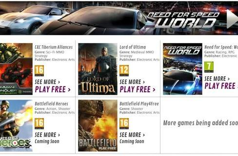 UK retailer GAME launches 'Free2Play' portal with EA