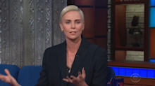 Charlize Theron credits women at Fox News for launching #MeToo movement