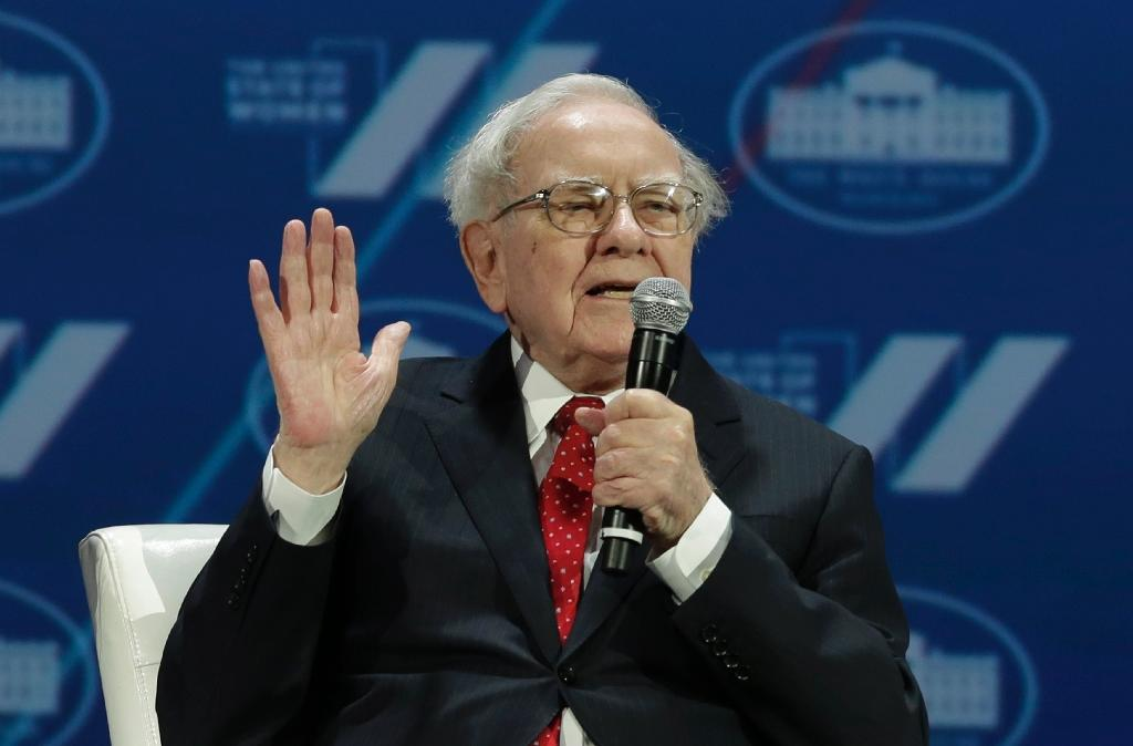 "Investor Warren Buffett -- shown here in 2016 -- says the high cost of health care is ""a hungry tapeworm on the American economy"""