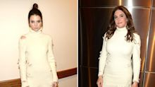 Caitlyn and Kendall Jenner Wear Nearly Identical Dresses at Yeezy Show After the Model Accused Her Dad of Stealing Her Spotlight