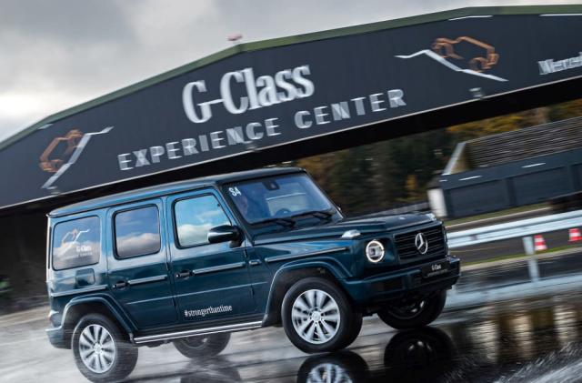 Mercedes-Benz will build an electric G-Class SUV