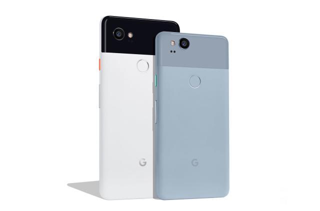 Google unveils the Pixel 2 and Pixel 2 XL