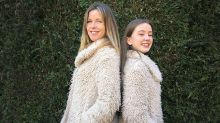 My 13-year-old daughter and I fight over the same clothes