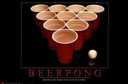 Protesters fight the wrong in Beer Pong