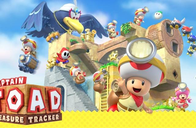 'Captain Toad: Treasure Tracker' is the latest addition to Nintendo's Labo VR