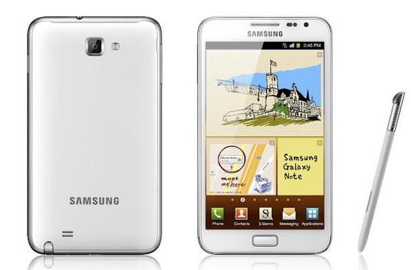 Ceramic White Samsung Galaxy Note careens into Canadian hearts starting today