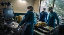 Covid-19: plus de 1200 malades admis en réanimation en une semaine