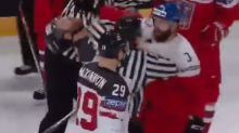 Gudas punches Flyers teammate Giroux at World Championships (Video)