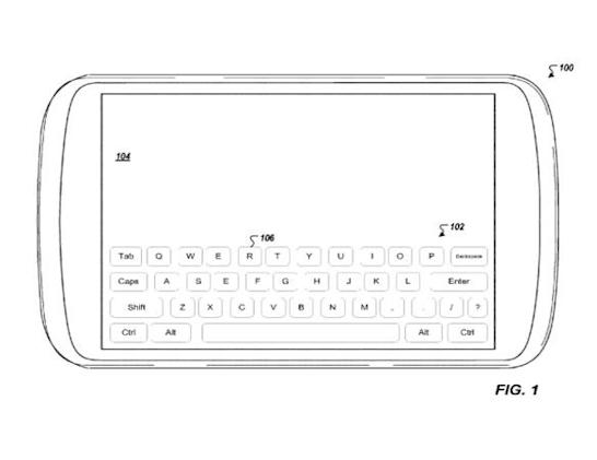 Google files for touchscreen keyboard patent because it wants to own all the things