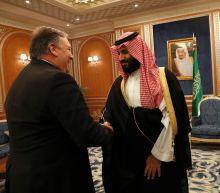 Pompeo on diplomatic tightrope in Saudi talks over Khashoggi murder