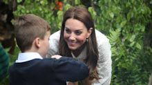 Duchess of Cambridge makes surprise appearance at Chelsea Flower Show garden