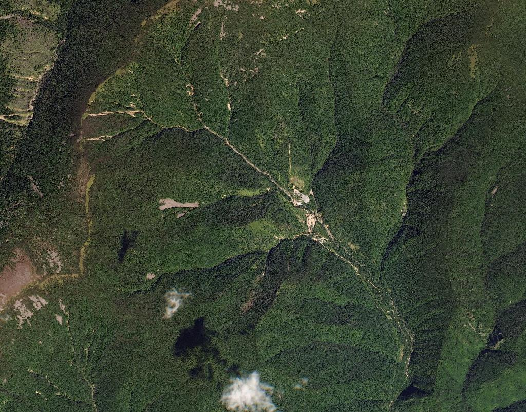 The last five of Pyongyang's six nuclear tests have all been carried out at the Punggye-ri nuclear test site under Mount Mantap, in the north-west of the country, seen in this image acquired on September 1, 2017, and courtesy of www.Planet.com