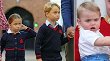 When might Prince George, Princess Charlotte and Prince Louis take on royal duties?