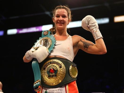 Terri Harper's fairy tale: From working in a chip shop to winning a world title in 10 fights
