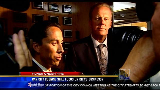 Filner under fire: How is this affecting city business?