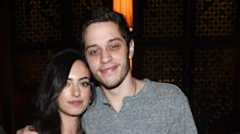 Pete Davidson's ex Cazzie David says he broke things off a day before he dated Ariana Grande
