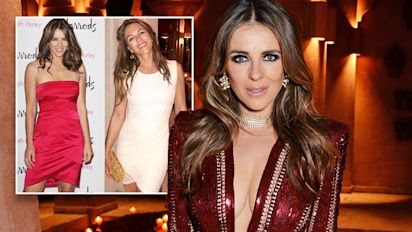 Elizabeth Hurley fans claim 53-year-old ages 'like fine wine' in 10 year challenge