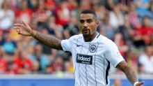 Kevin-Prince Boateng makes Eintracht debut