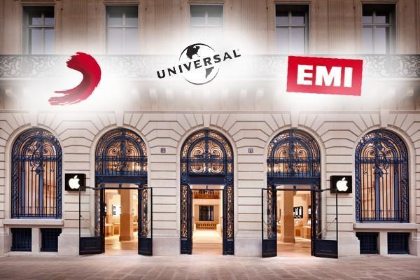 Apple gets cozy with EMI, Universal, and Sony over cloud music licensing (updated)