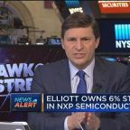 Elliott believes NXP Semiconductors is worth about $135 p...