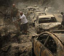 Wildfires spread through parts of Lebanon, Syria