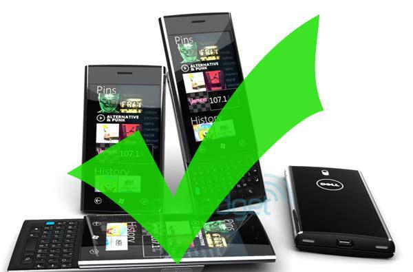 Dell dropping Windows Phone 7 devices from its roadmap? (update: Dell responds, is definitely still in the game)