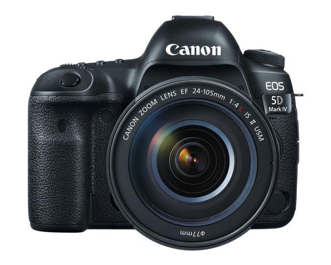 Canon's EOS 5D Mark IV has a 30.4-megapixel sensor and 4K video