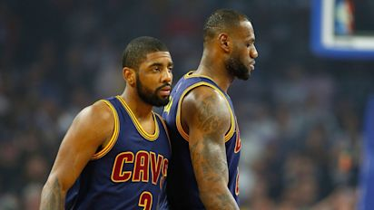 Kyrie doesn't care if LeBron's feelings are hurt