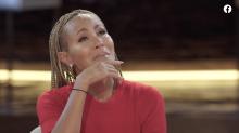 Jada Pinkett Smith fights back tears interviewing Robyn Crawford