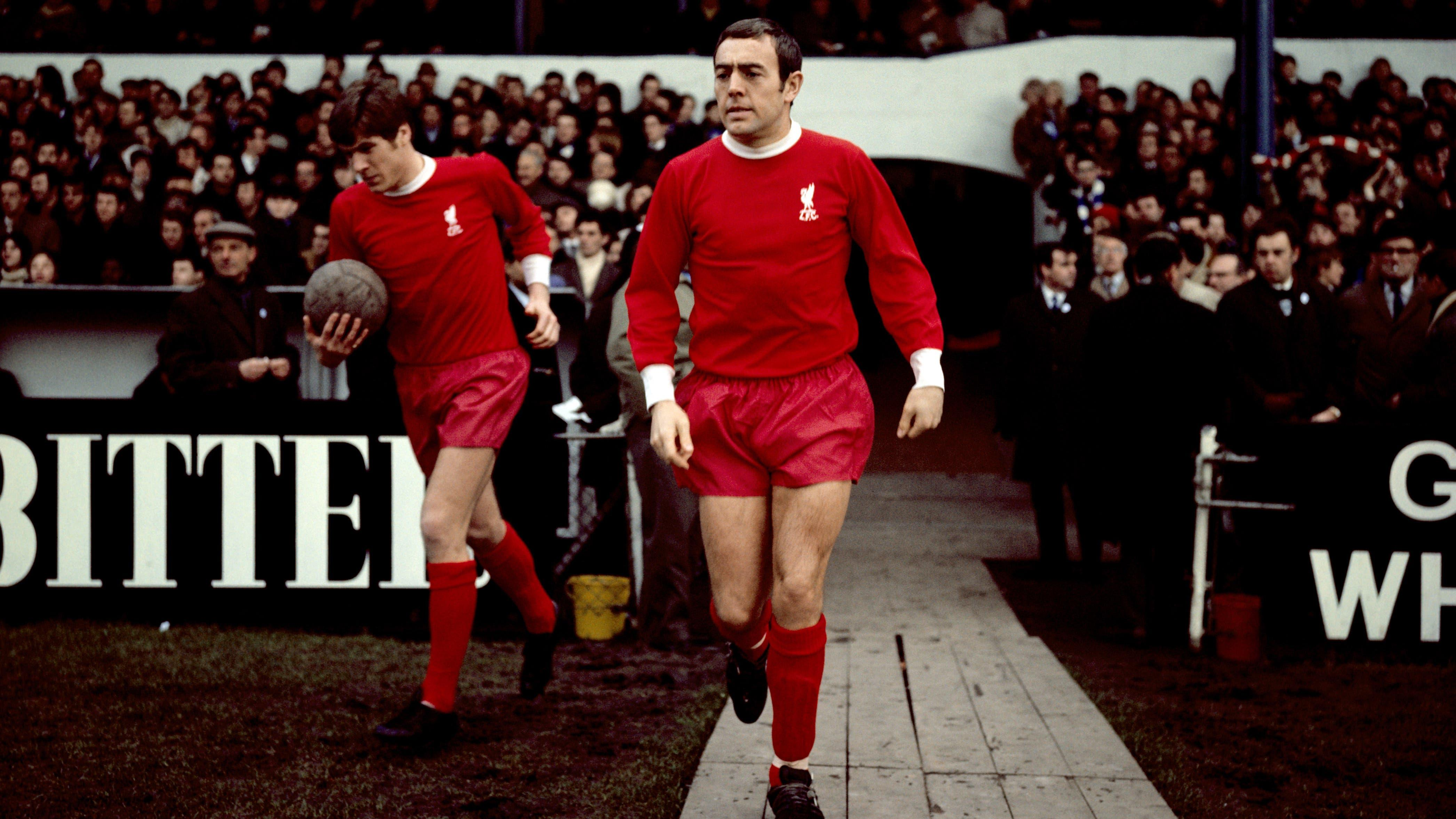 In pictures: The career of former Liverpool and Scotland forward Ian St John