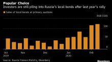 Investors Come Back for More After 34% Russian Bond Returns