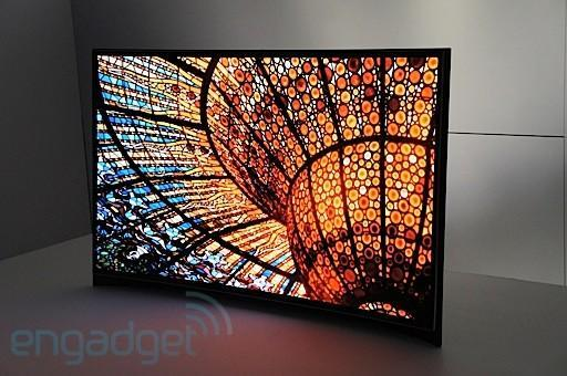 Samsung announces 'world's first' curved OLED, we go eyes-on