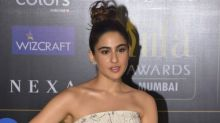 IIFA Awards 2019: Sara Ali Khan Gives Us A Fairy Tale Moment With Her Gorgeous Floral Gown