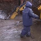 Storms hit California resulting in flooding, rock slides