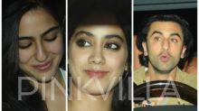 EXCLUSIVE: Jhanvi Kapoor tries to grab Ranbir Kapoor's attention; Karan Johar helps Sara Ali Khan mingle with celebrities