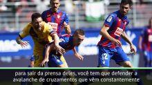 """FUTEBOL: La Liga: Valverde: """"Vitória fundamental sobre o Eibar"""""""