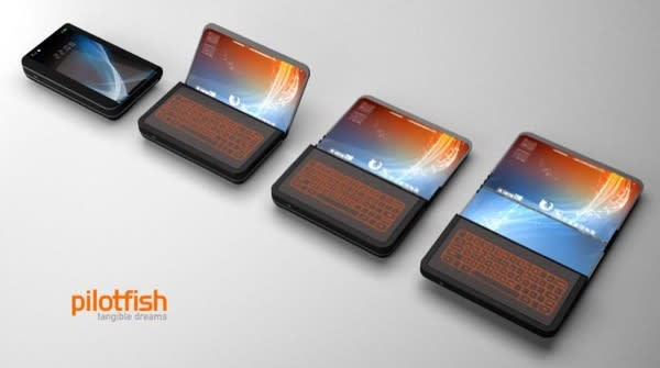 ITRI's folding TFT-EPD display: ready for smartphones next year