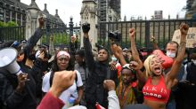 UK PM condemns George Floyd killing as protesters take to the streets
