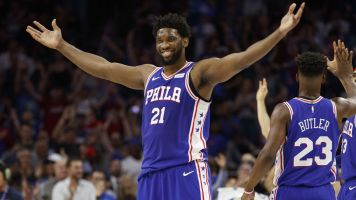 Sixers steamroll Nets to advance to 2nd round