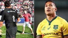 'Quite scary': Israel Folau saga explodes in ugly fan altercation
