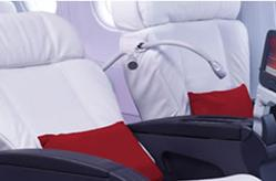 Virgin America showcases pimped out aircraft, lobbies for US flights