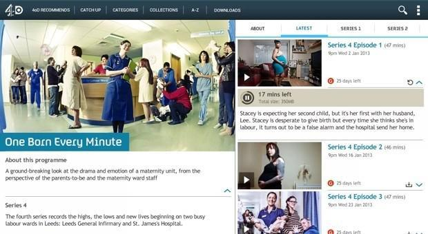 Channel 4 brings offline viewing to 4oD for Android and iOS