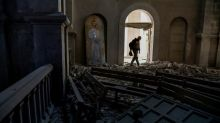 Shelling hits Armenian cathedral in Karabakh