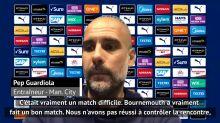 "36e j. - Guardiola : ""Un match difficile"""