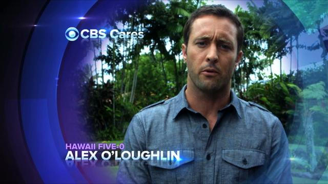 CBS Cares - Alex O'Loughlin on Typhoon Haiyan