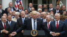Trump pleads with Republicans to roll back Obamacare