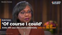 Anita Hill says she could potentially vote for Joe Biden