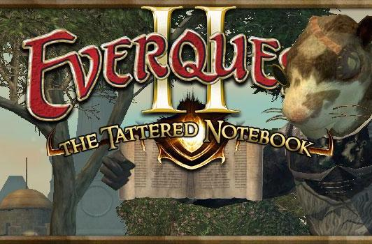 The Tattered Notebook: Six years of EverQuest II
